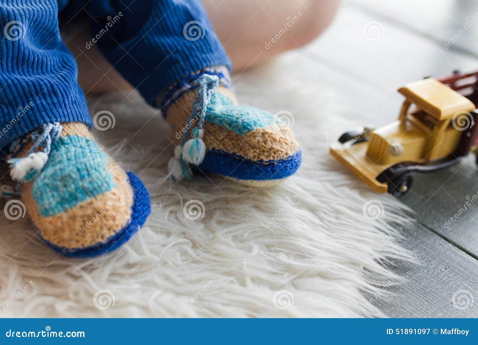 Montantes feitos a mão do bebê