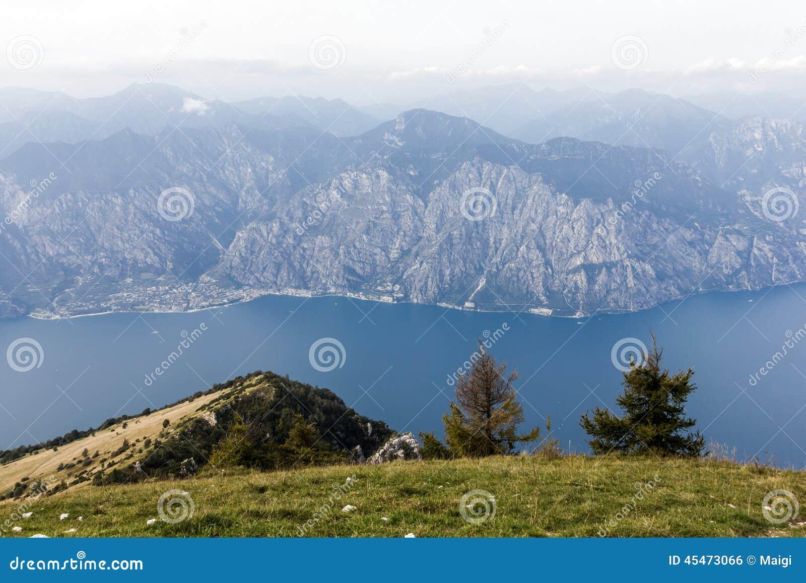 Download On Monte Baldo stock photo. Image of mountains, baldo - 45473066