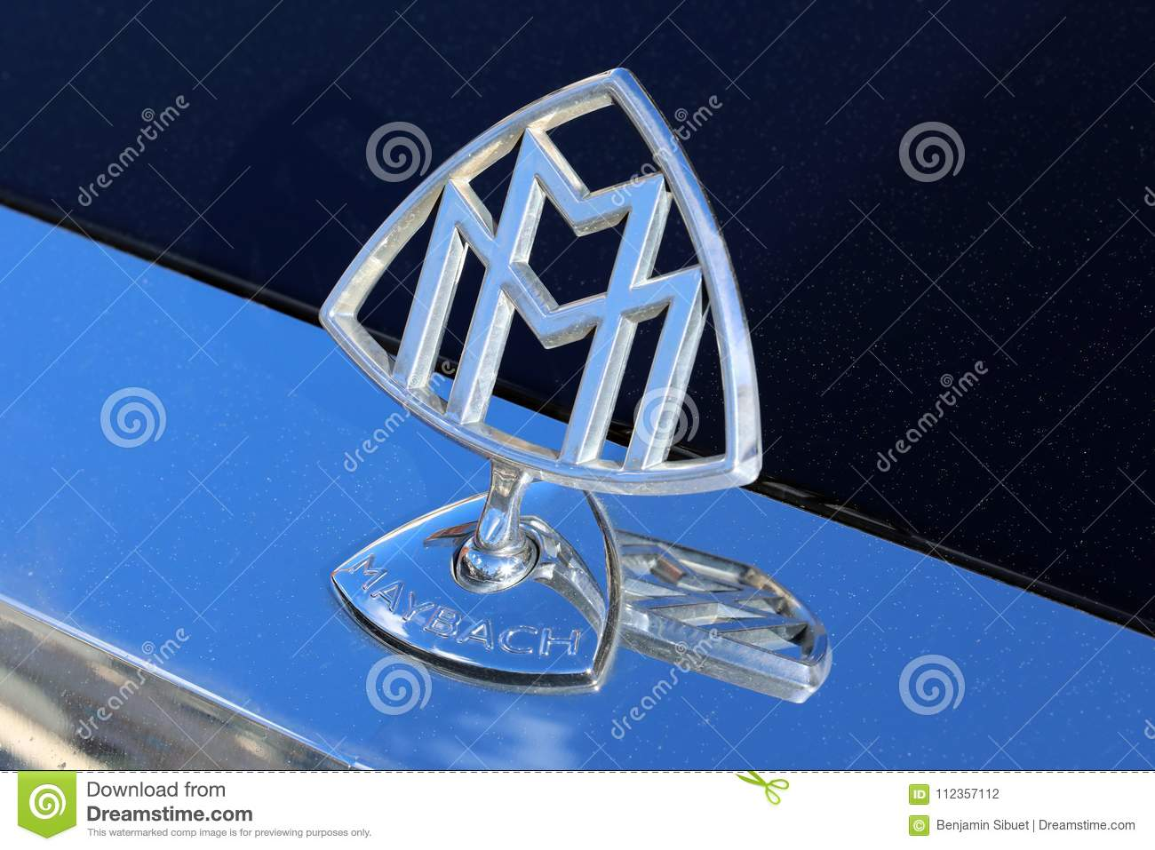 Maybach Hood Ornament Editorial Photography Image Of Design 112357112