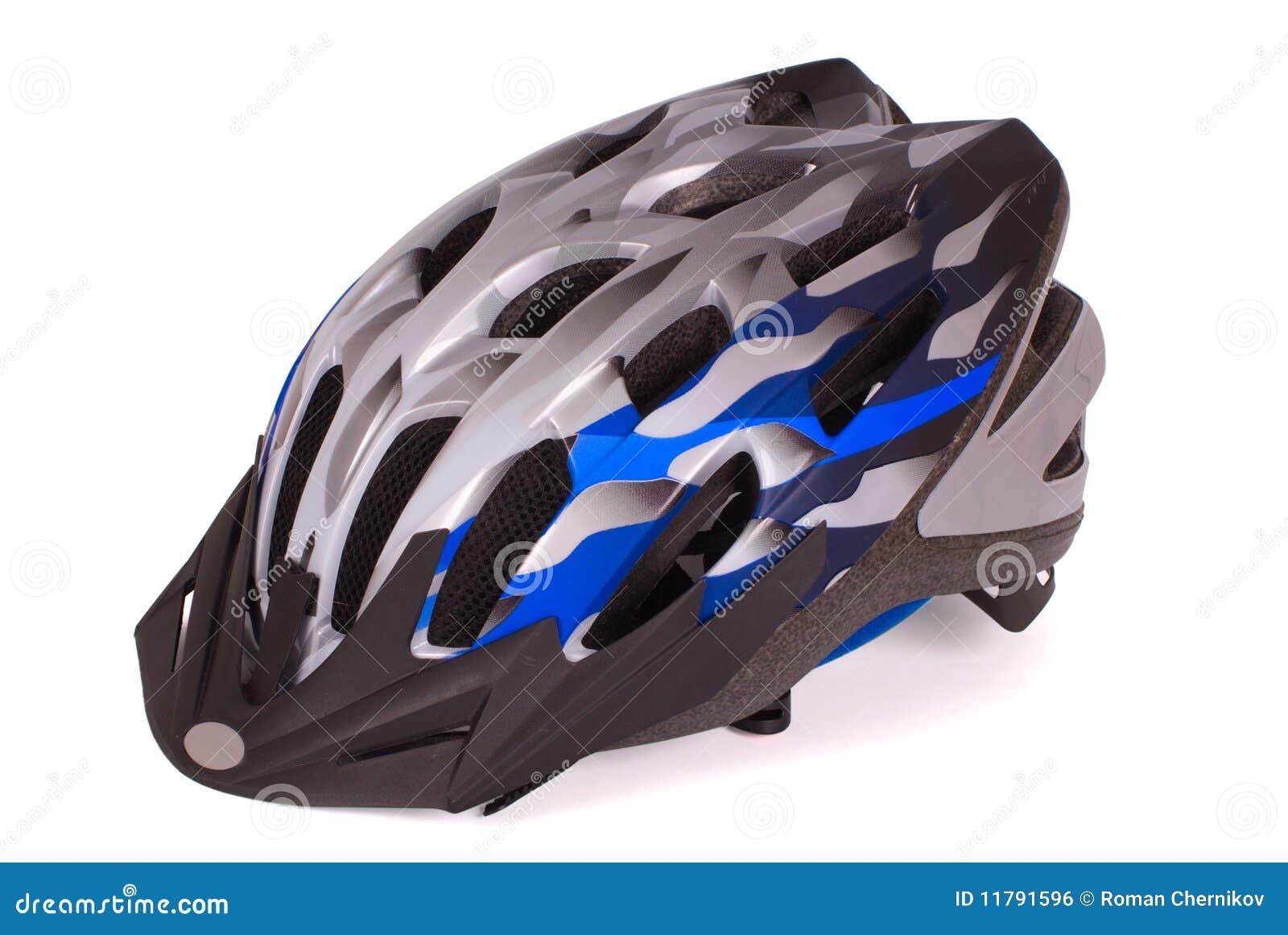 Monte en bicicleta el casco