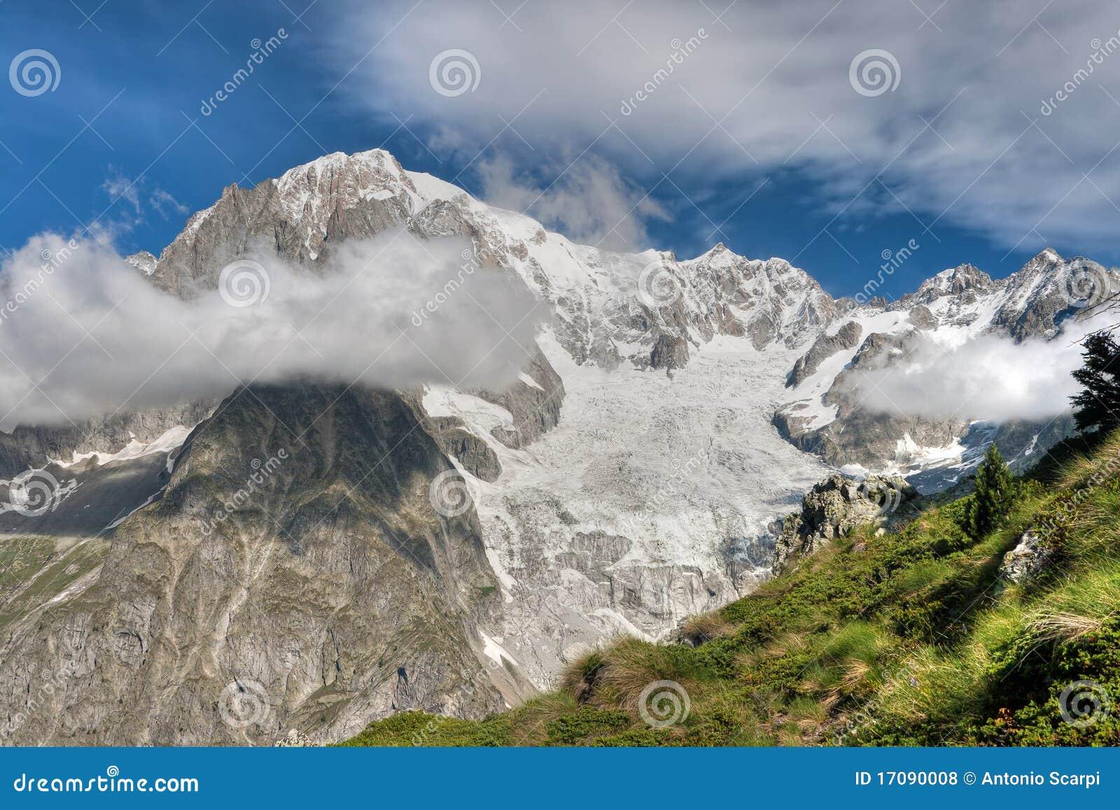 Monte mont hdr blanc bianco
