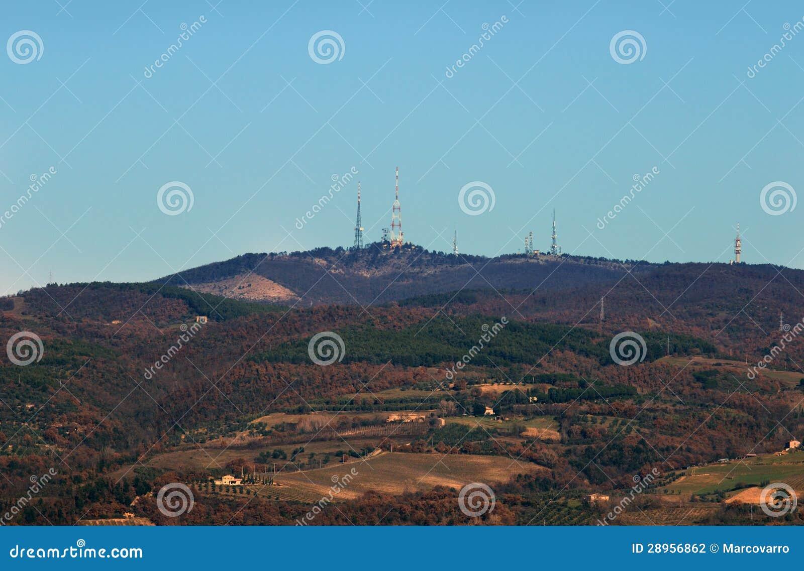 Monte Peglia i Selva Di Meana