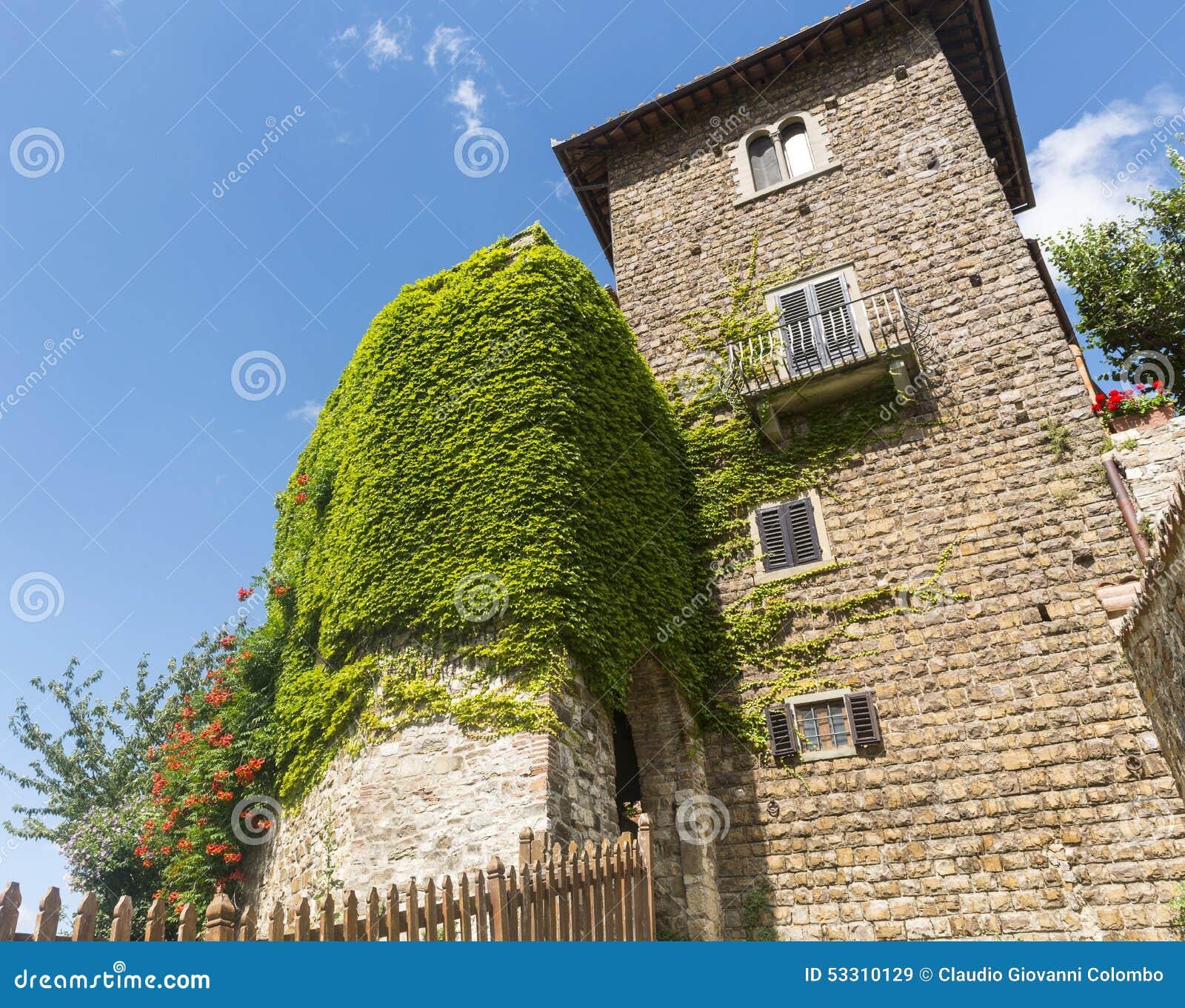 Montefioralle (chianti, Toscane)