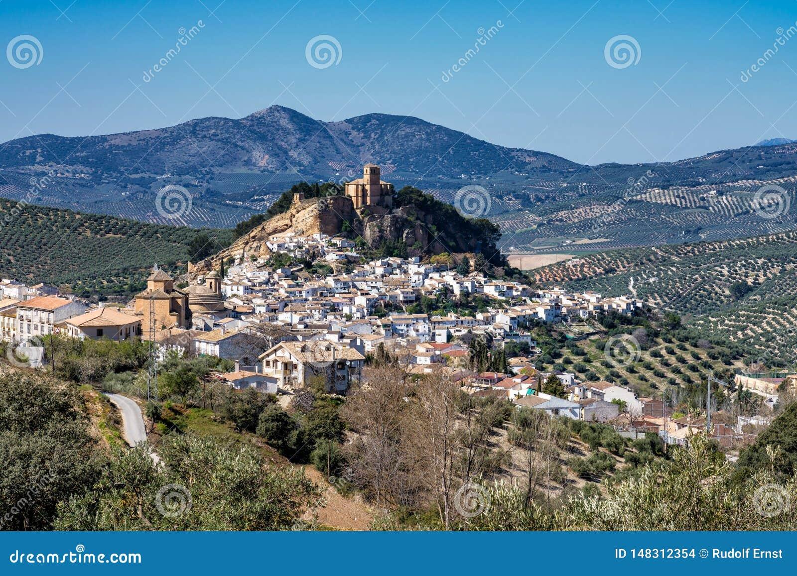 Montefrio nella regione di Granada di Andalusia in Spagna