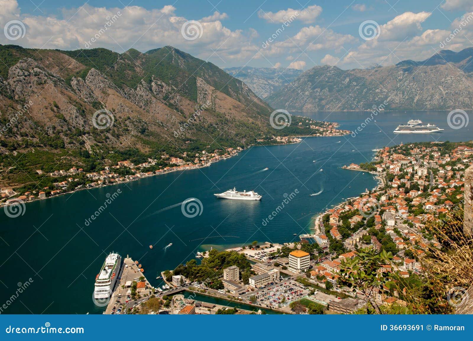 Montenegro. Baía de Kotor