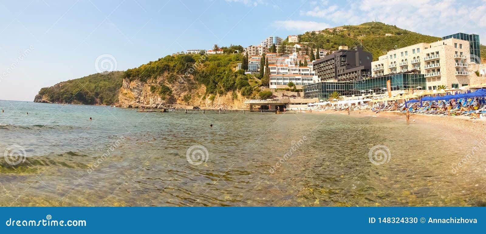 Montenegro? Budva 在海海滩的看法