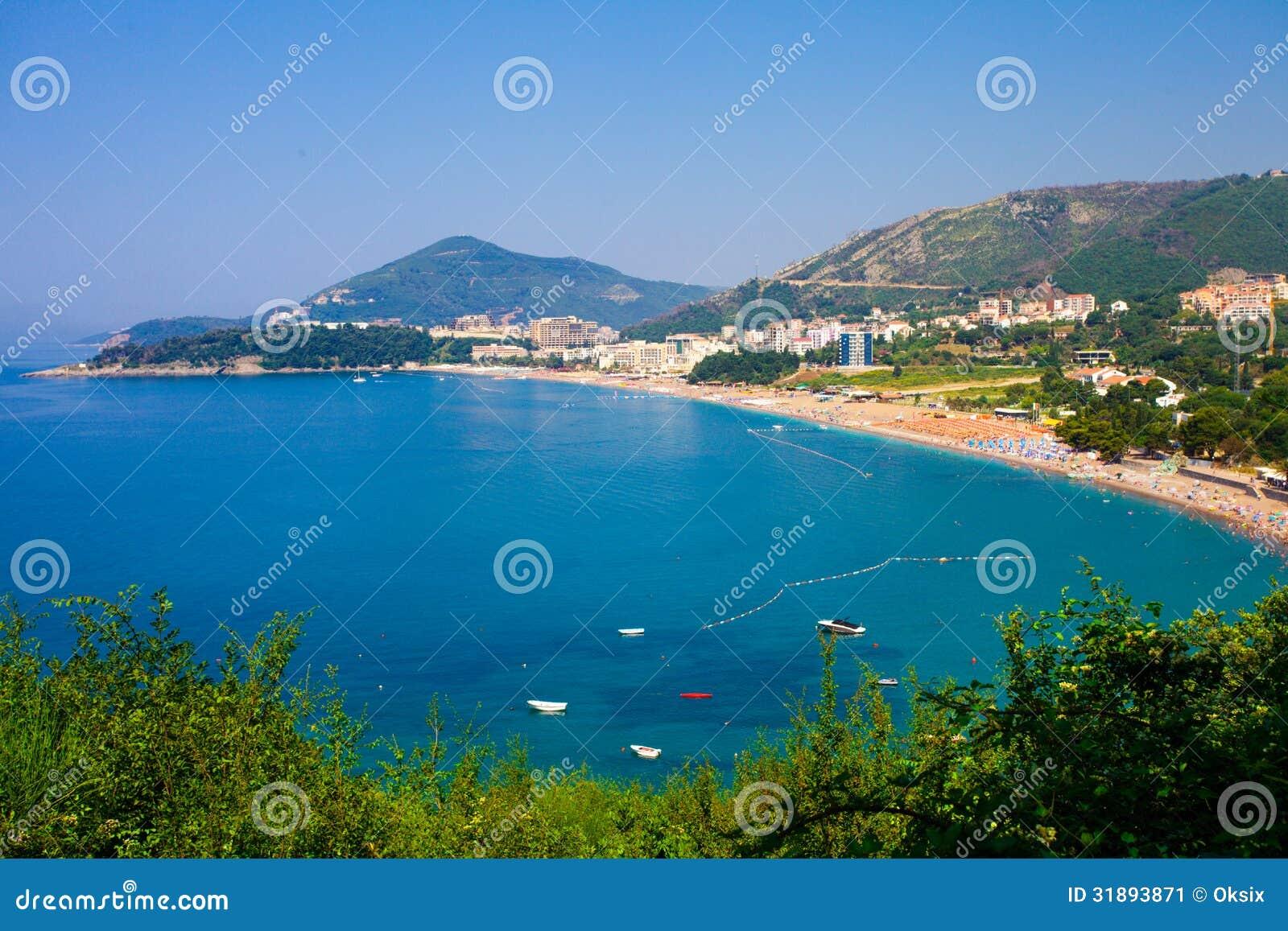 Montenegro kust
