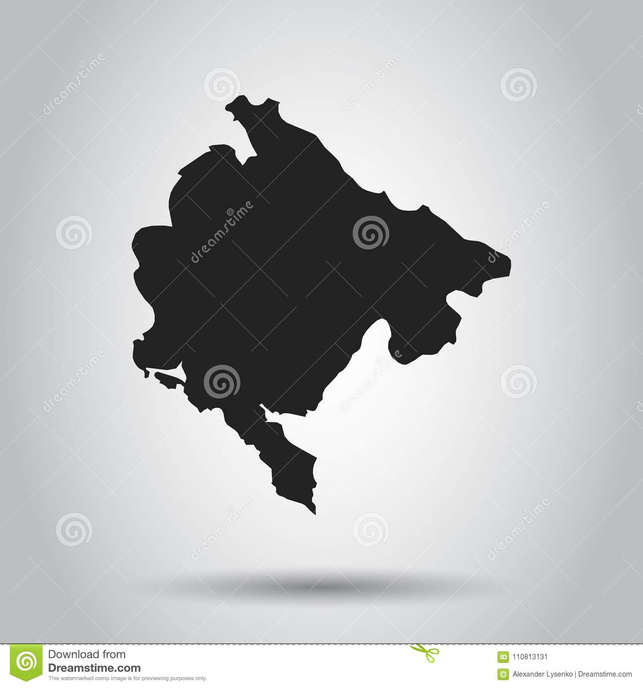 Montenegro vector map black icon on white background stock vector download montenegro vector map black icon on white background stock vector illustration of gumiabroncs Image collections