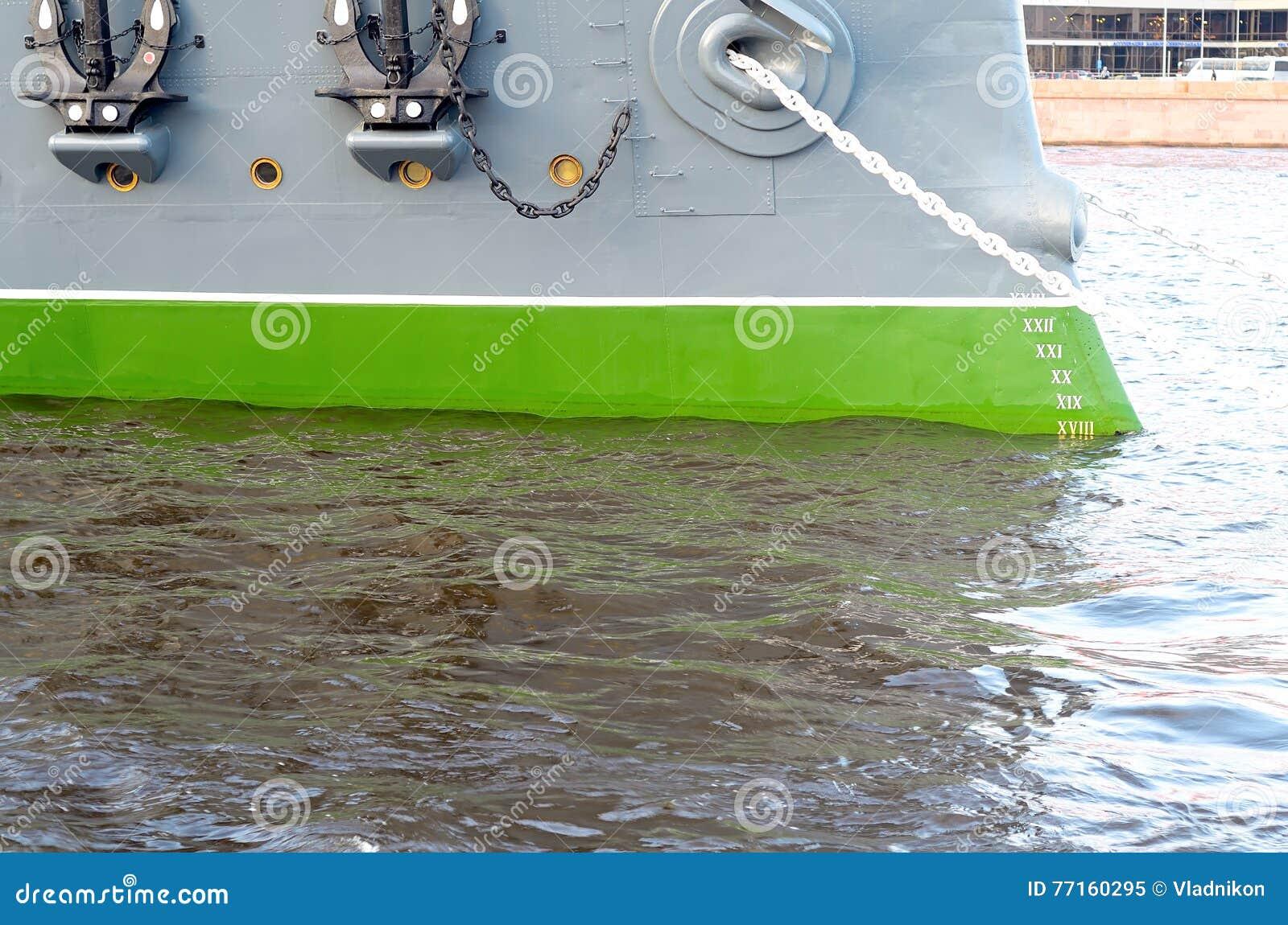 Monter à bord du vieux croiseur blindé