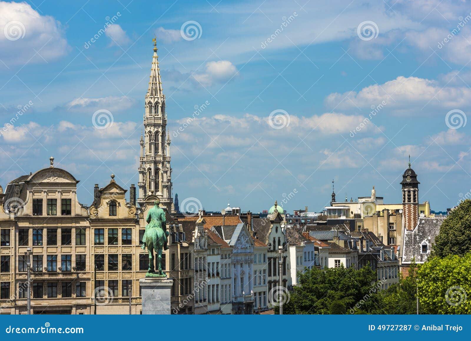 Montering av konsterna i Bryssel, Belgien