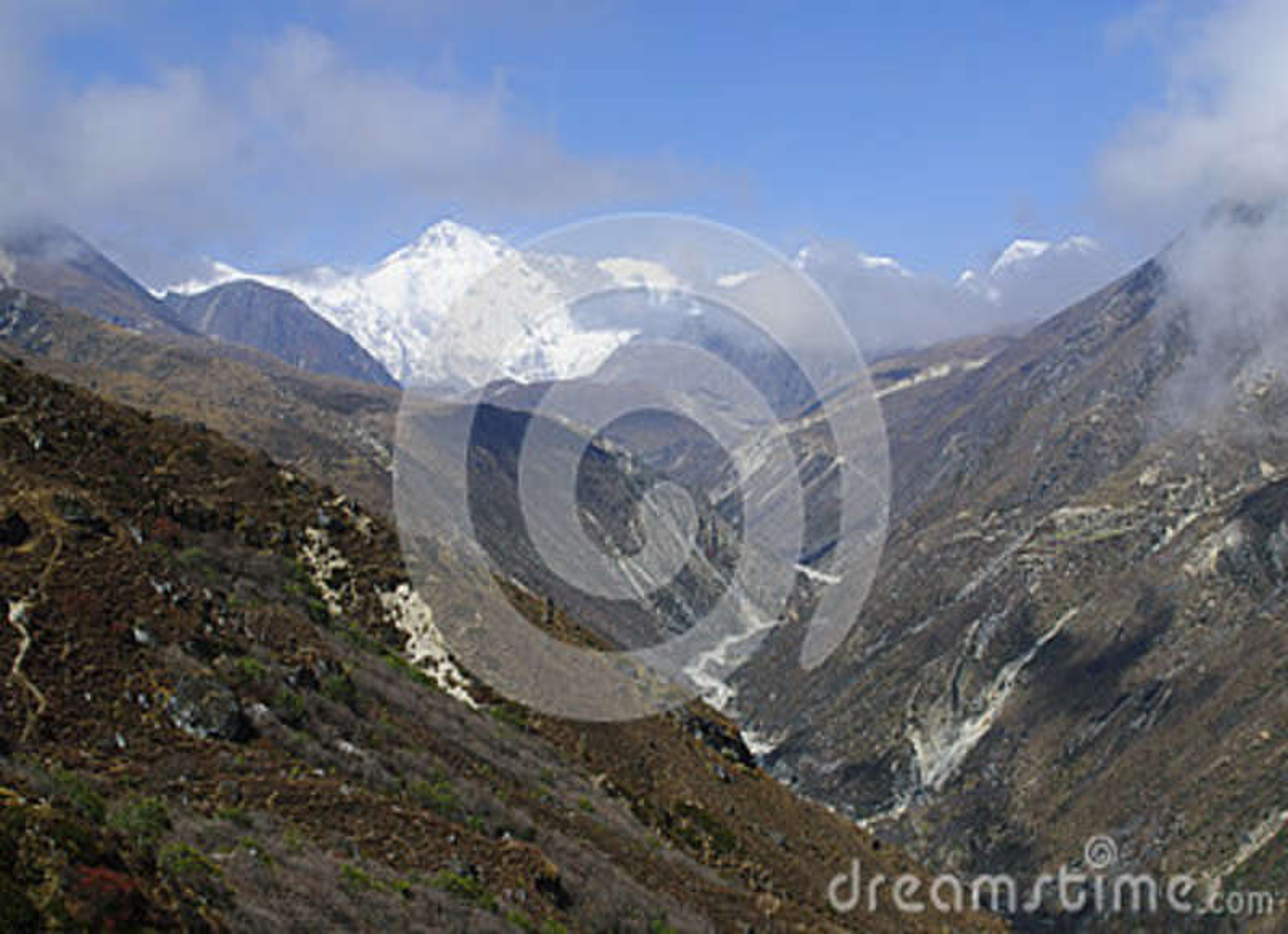 Montering Cho Oyu Gokyo Valley Nepal