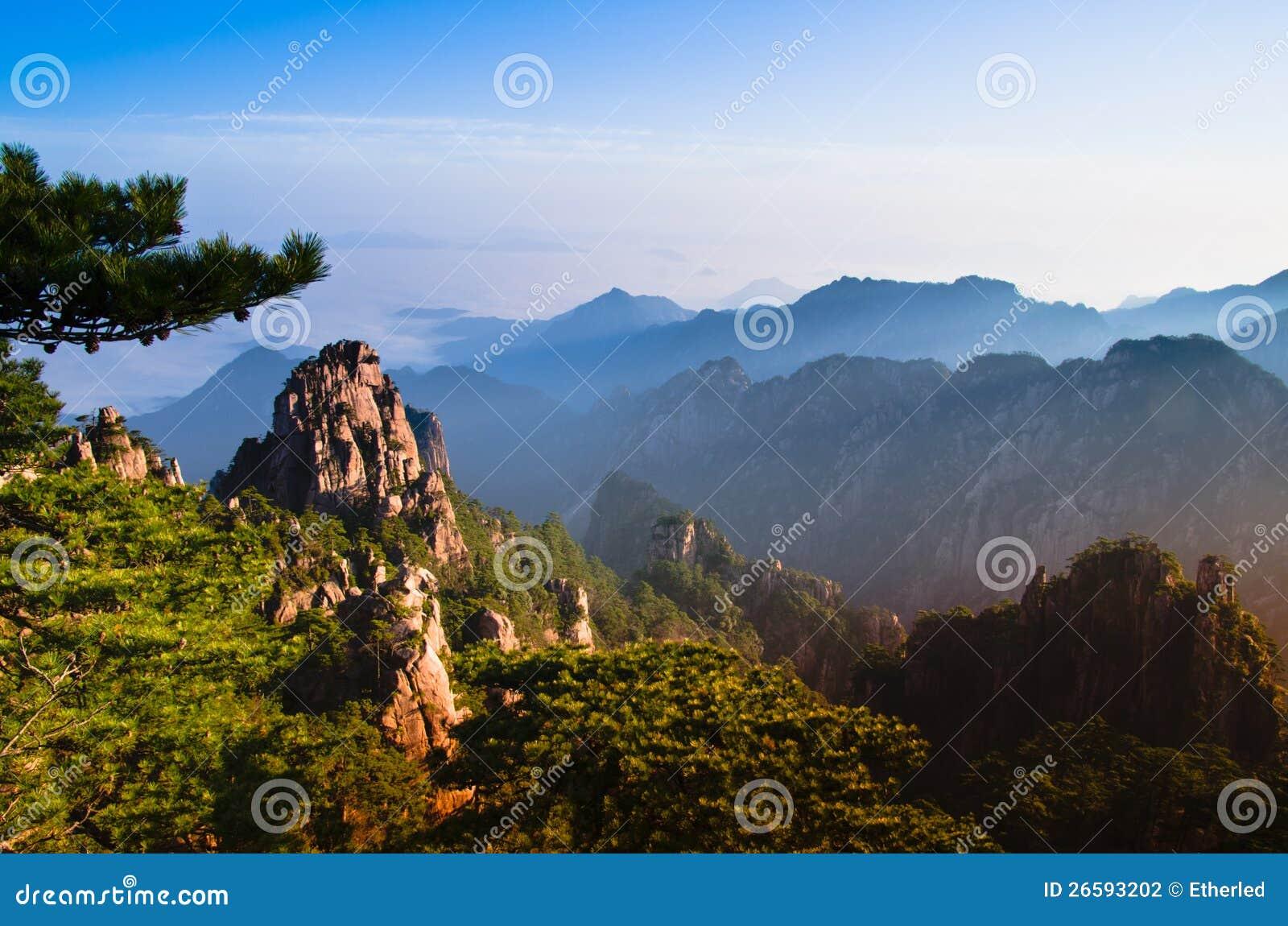 Montering huangshan