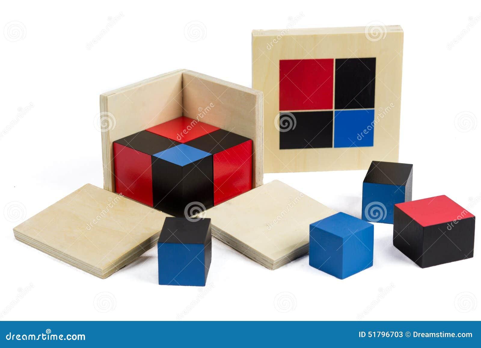 Montessori Materiële Binomiale Kubus
