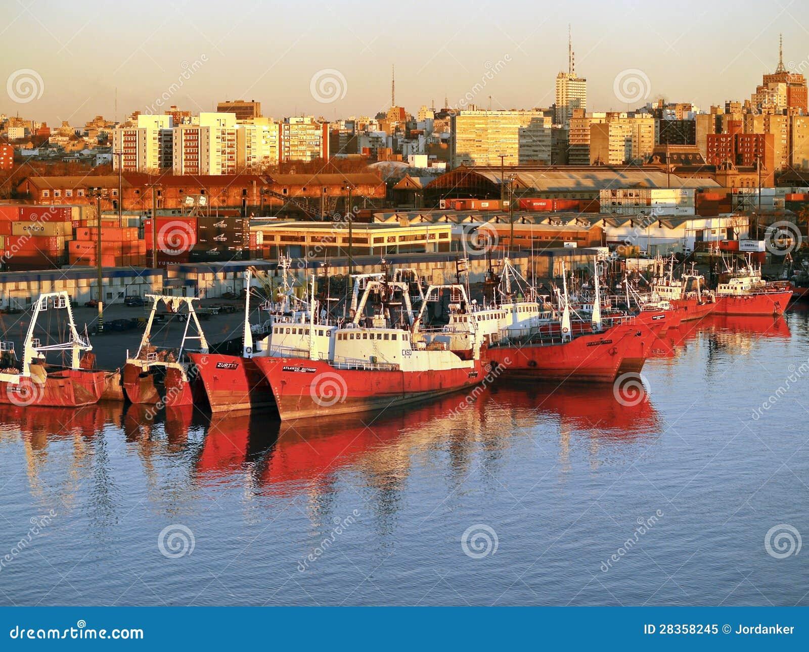 Montevideo port