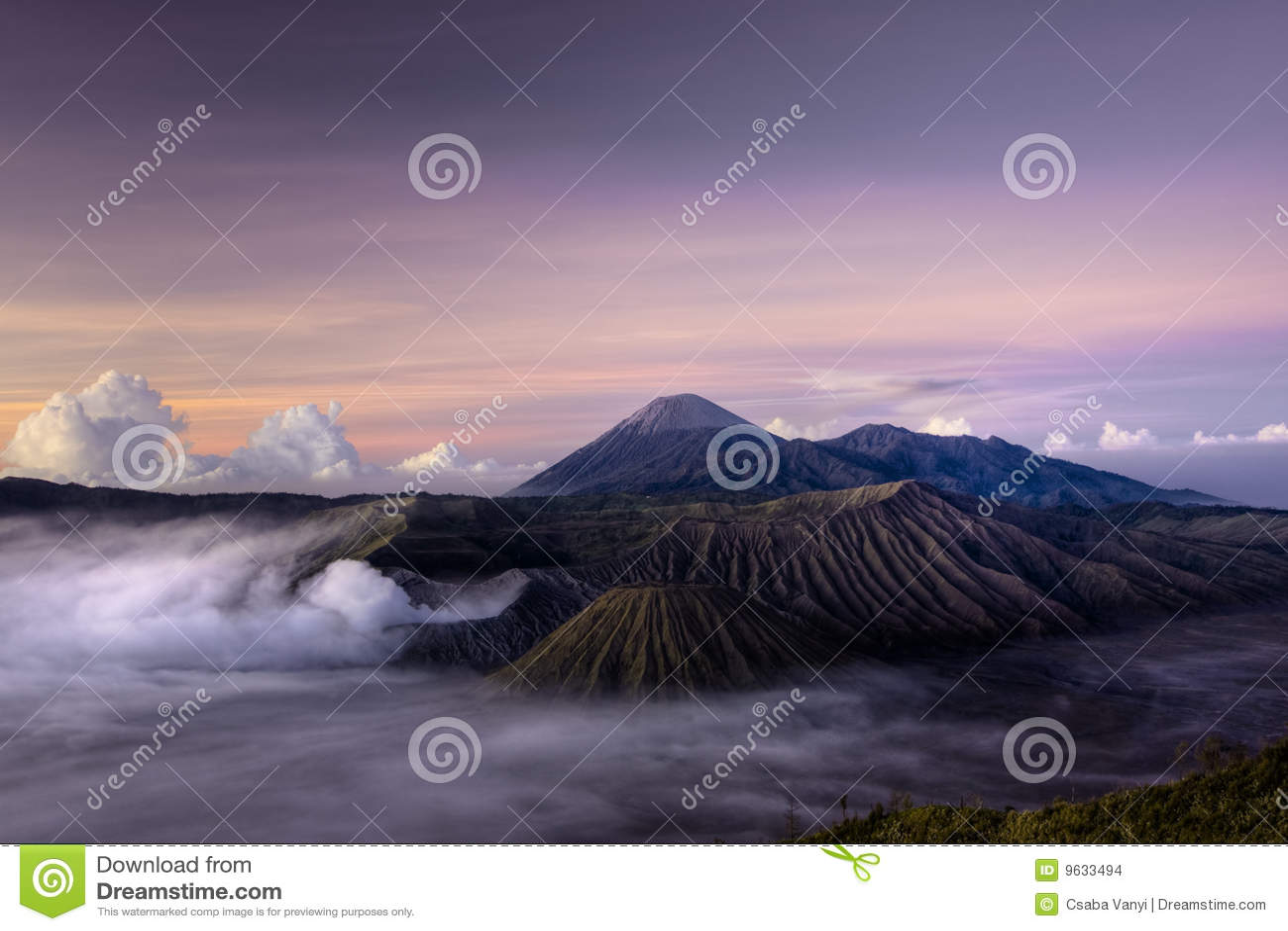 Montez le volcan de Bromo