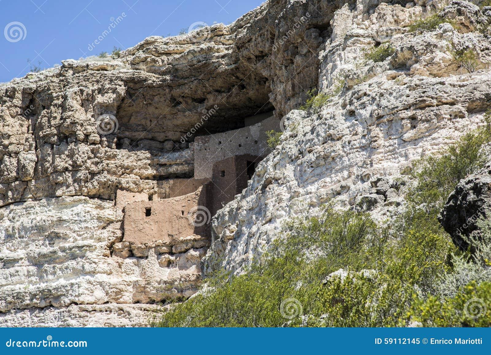 Montezuma城堡的,亚利桑那