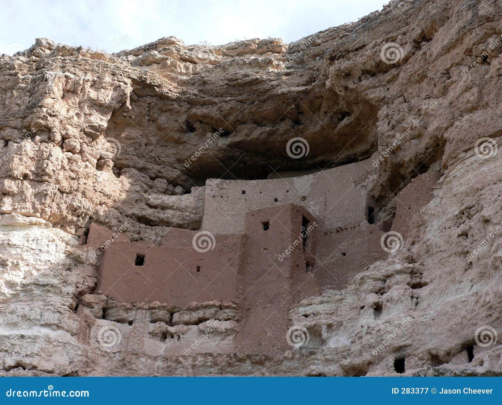 Download Montezuma Castle stock image. Image of bygone, building - 283377