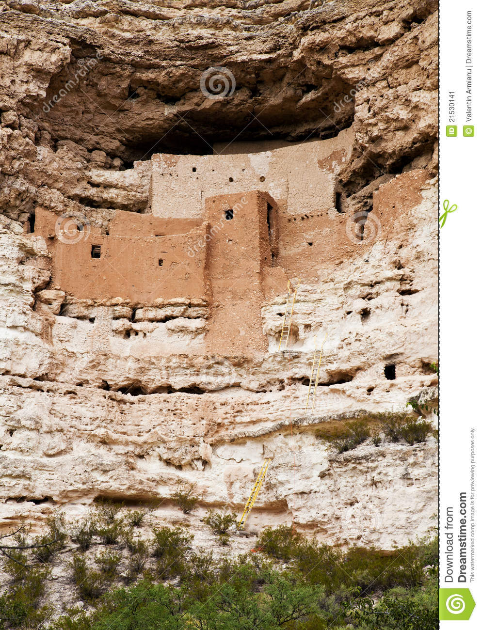 Download Montezuma Castle National Monument Stock Image - Image of stone, castle: 21530141