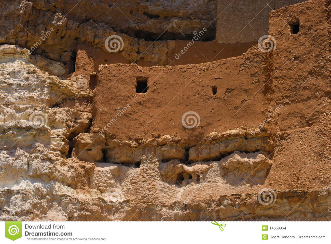 Download Montezuma's Castle stock photo. Image of castle - 14559864