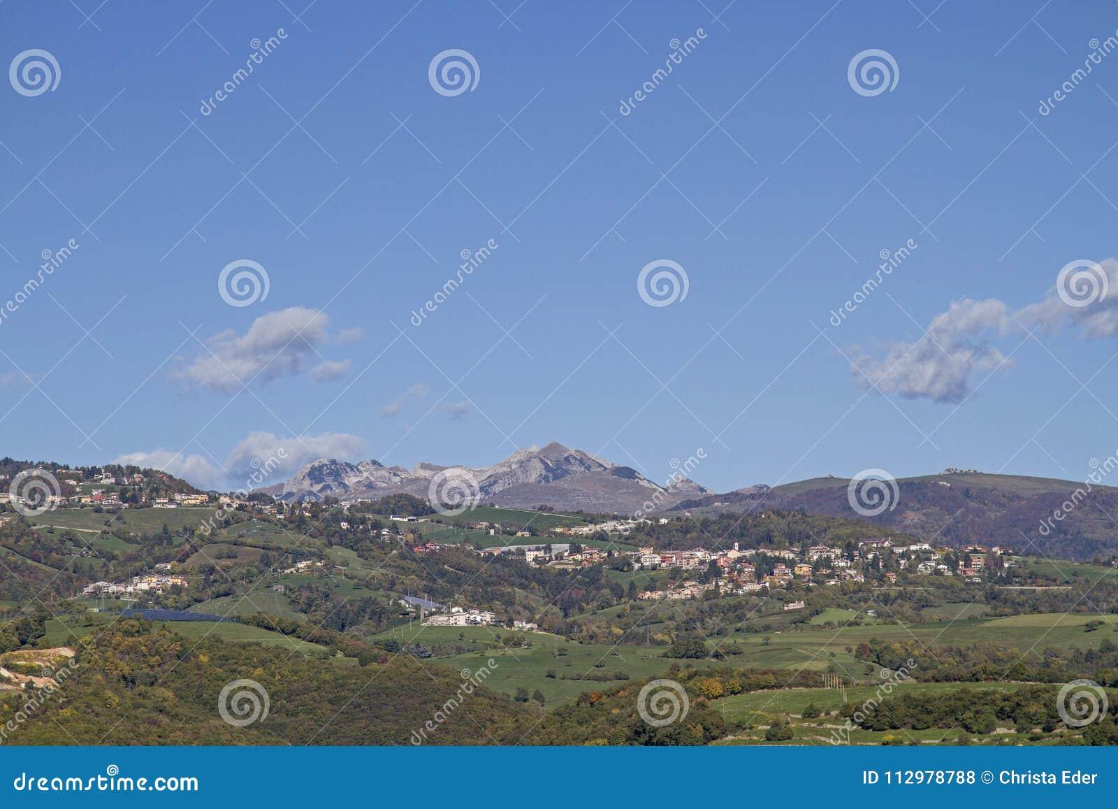 In the Monti Lessini mountains