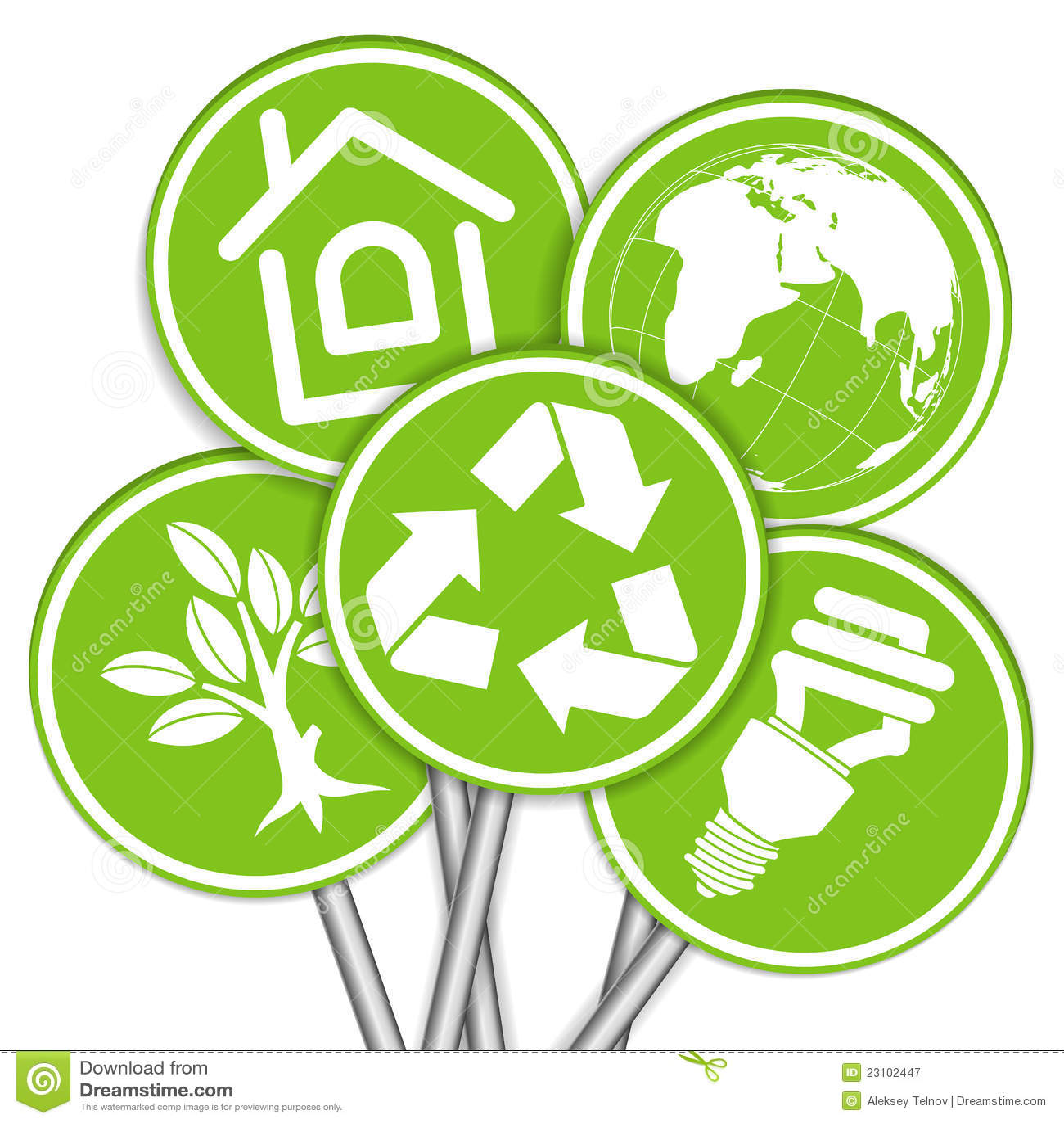Montieren Sie Umgebungs-Fahne