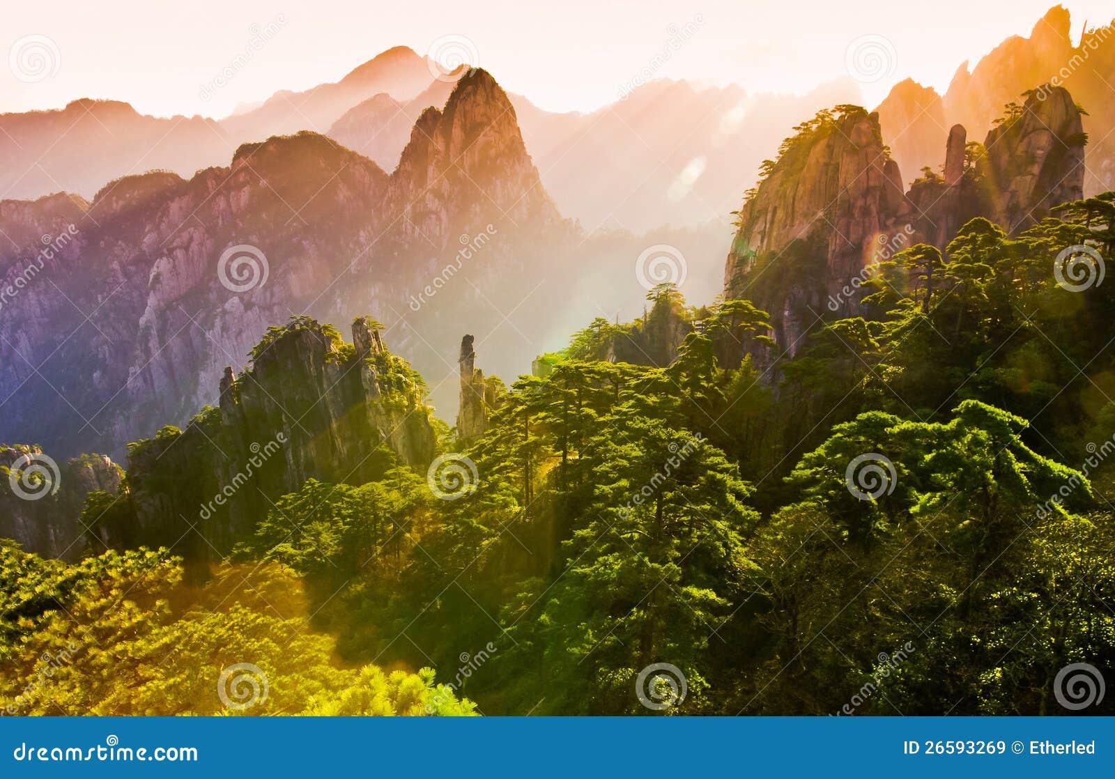 Montierung Huangshan