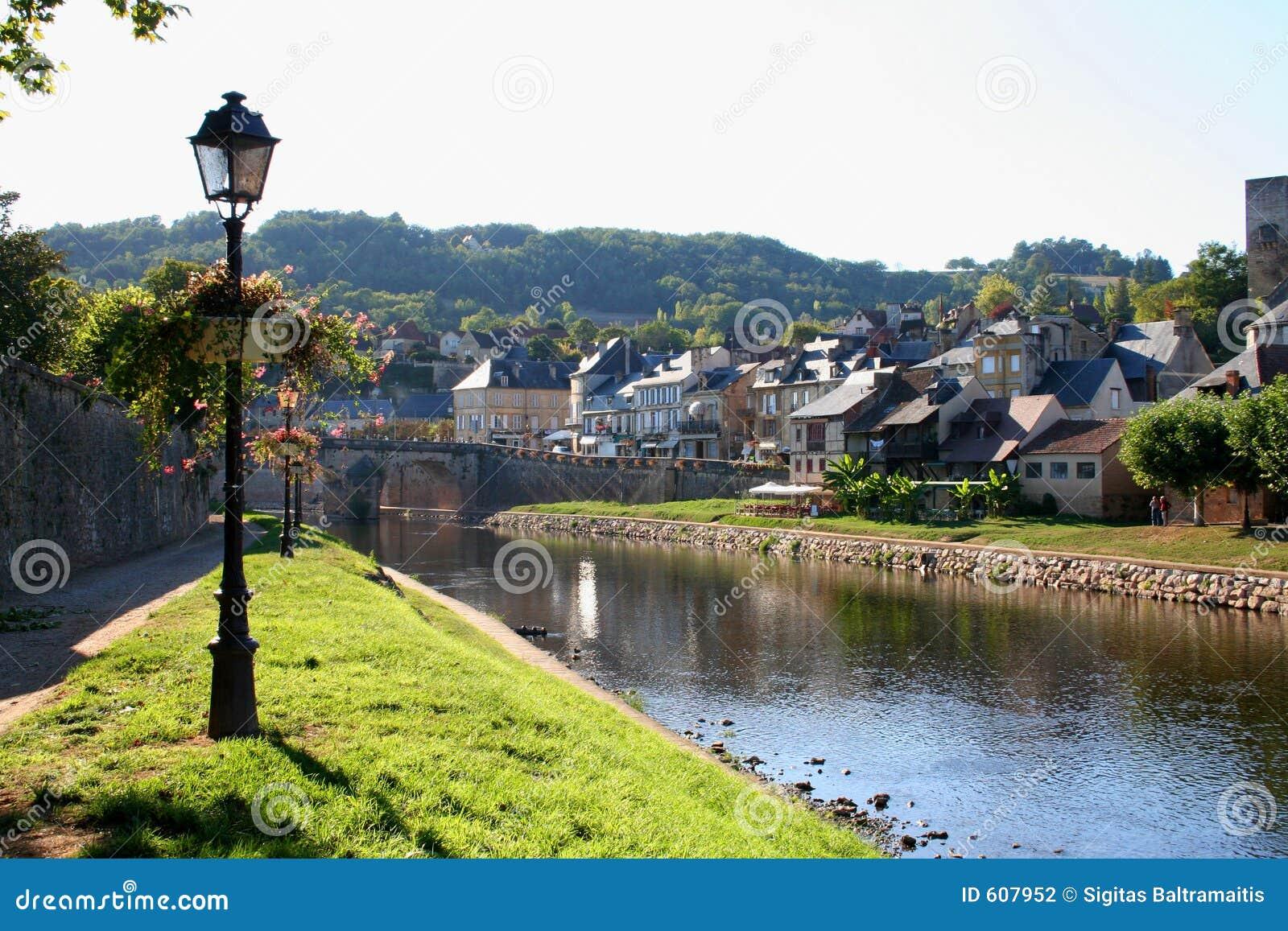 Montignac, rivier Vezere