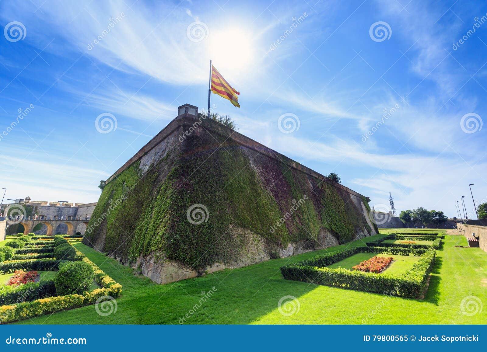 Montjuïc Castle, Barcelona, Catalonia, Spain