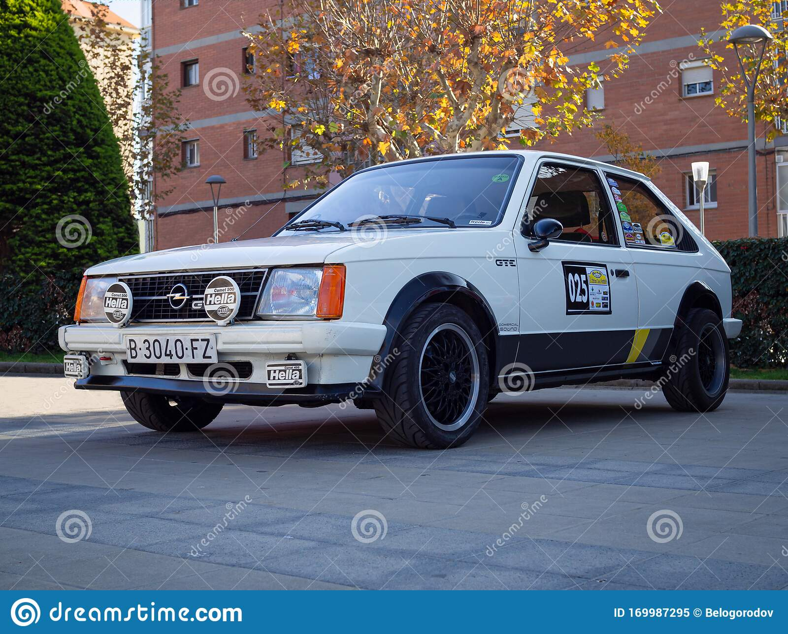 1983 Opel Kadett D Editorial Image Image Of Performance 169987295