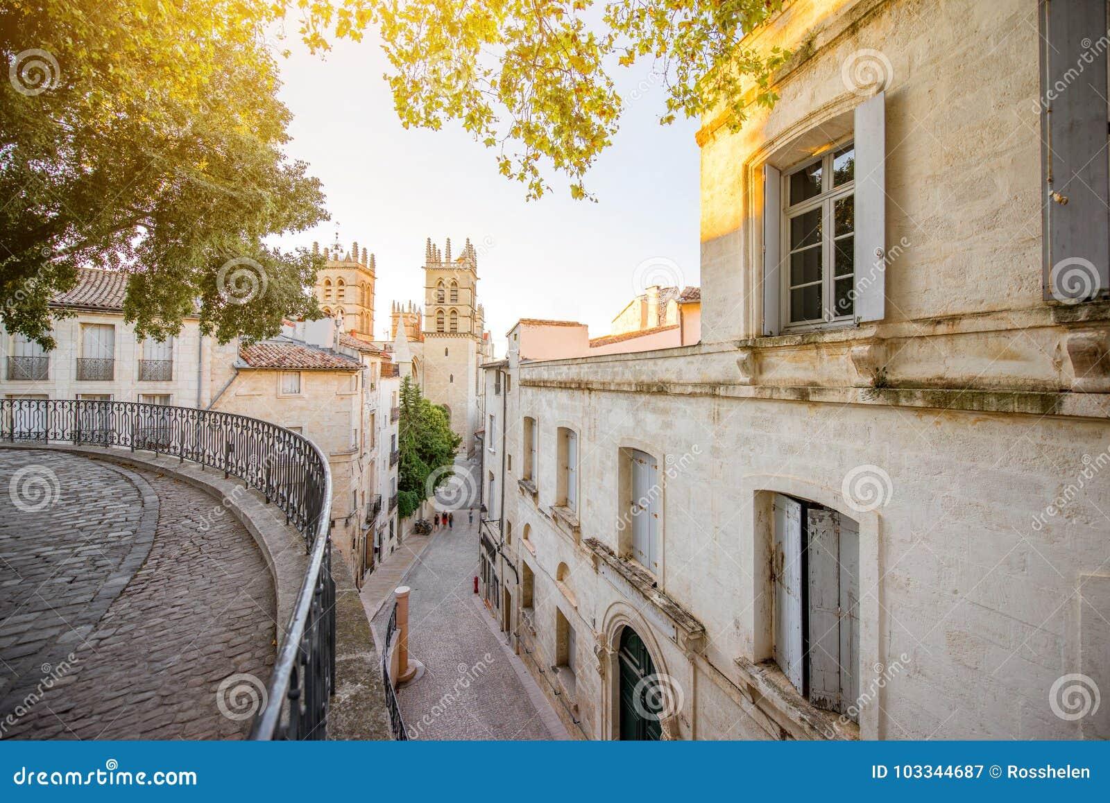Montpellier-Stadt in Frankreich