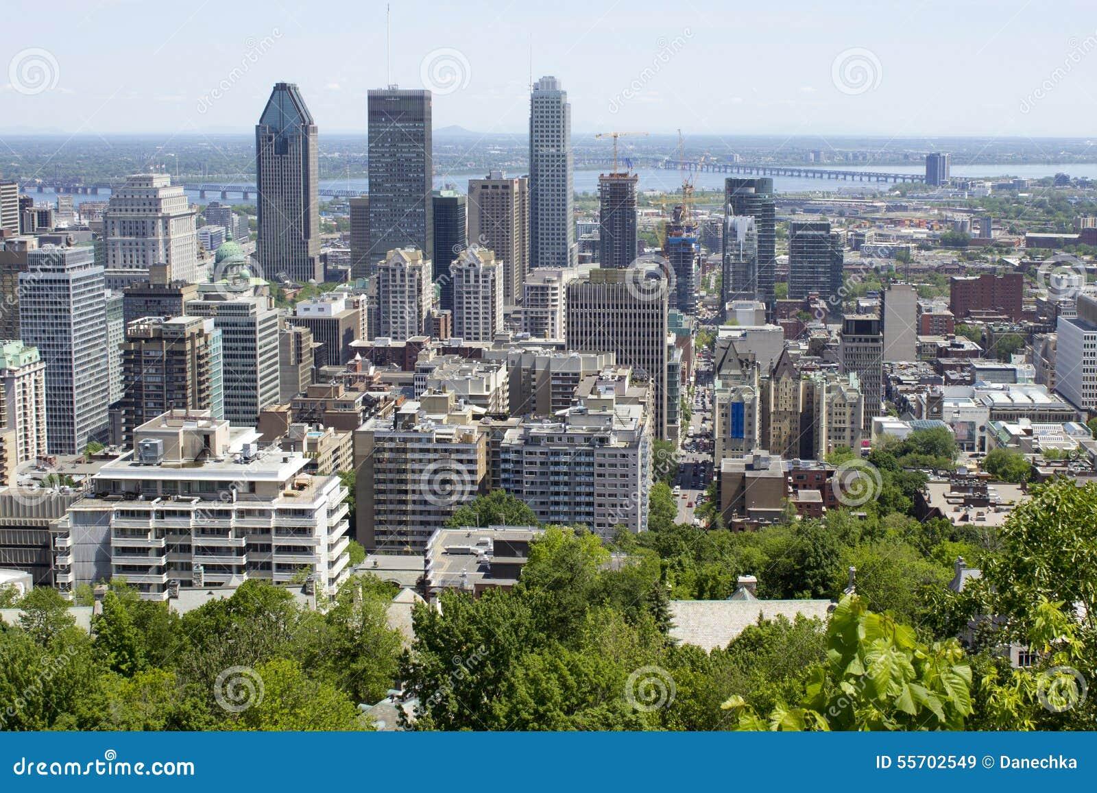 Canada Ville Montr Ef Bf Bdal Photo