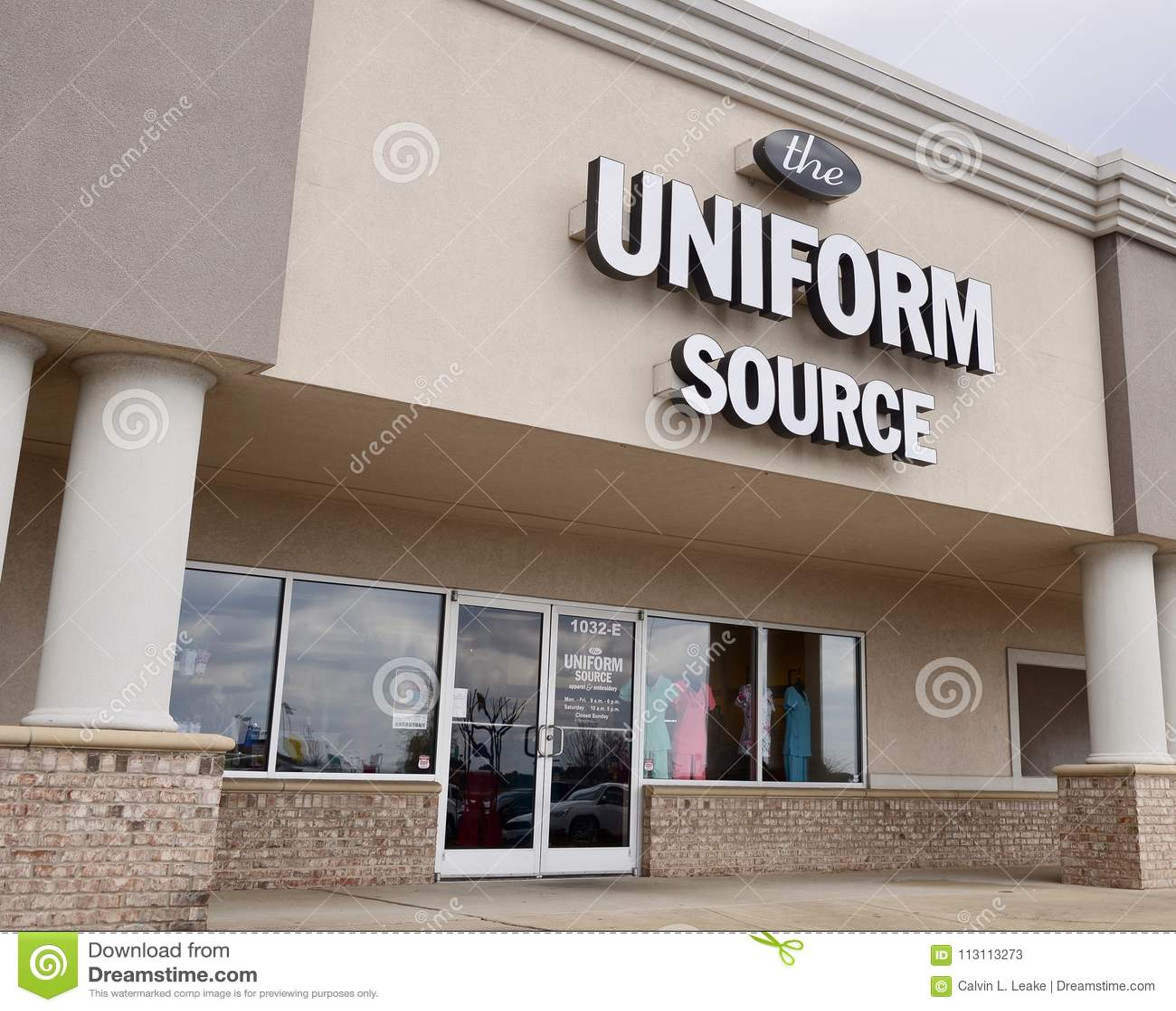 Montra uniforme da fonte, Jackson, TN