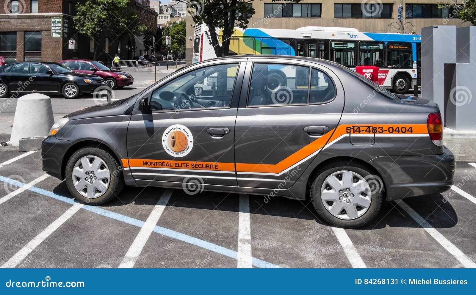 Montreal elita Securite samochód