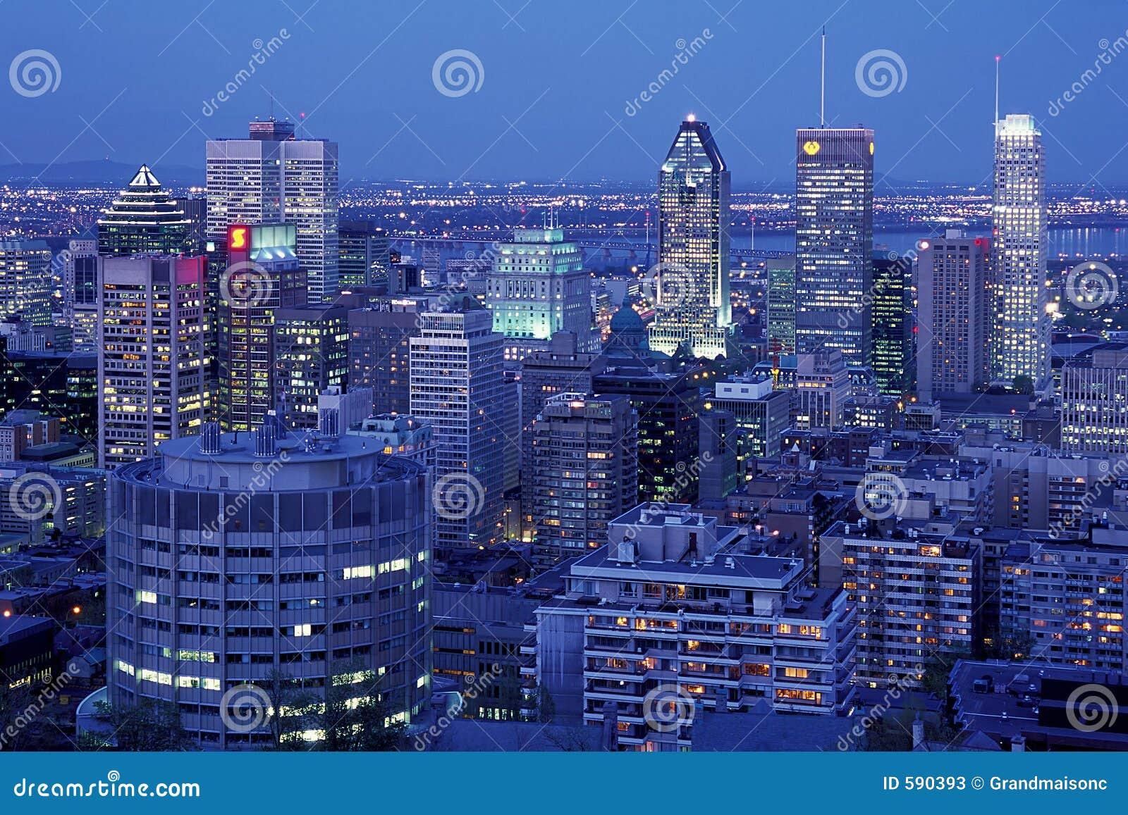 Montreal en la noche