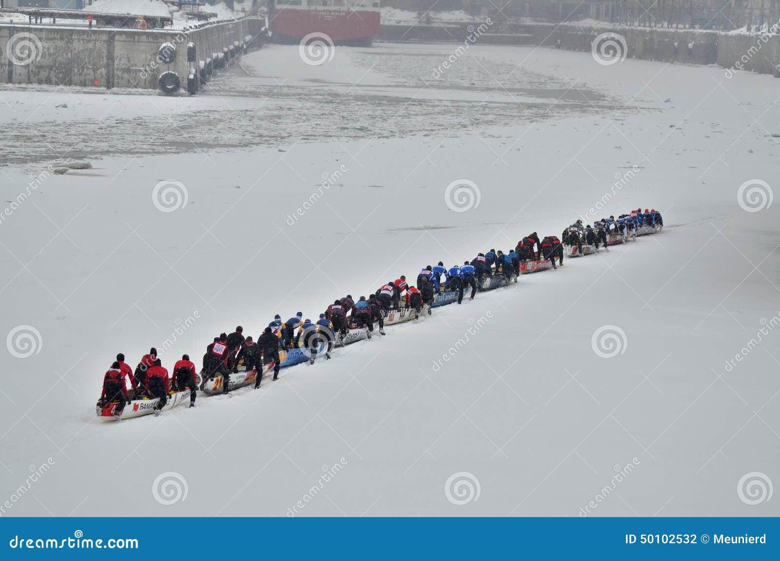 Montreal Ice Canoe Challenge