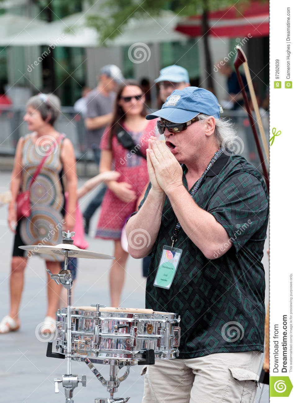 Montreal Jazz Festival 2017 Editorial Stock Image - Image of