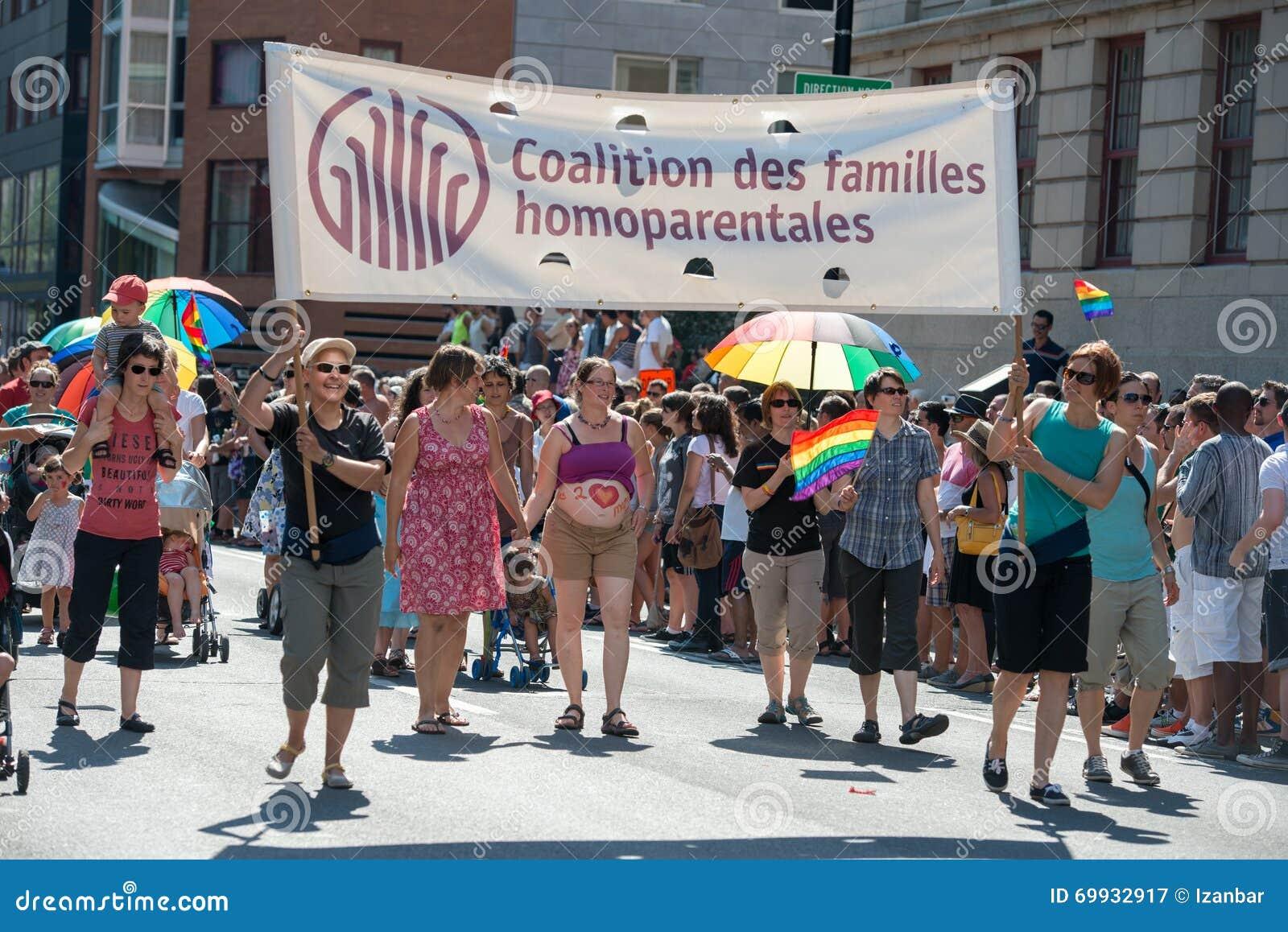 MONTREAL, KANADA - AUGUST, 18 2013 - Schwulenparade