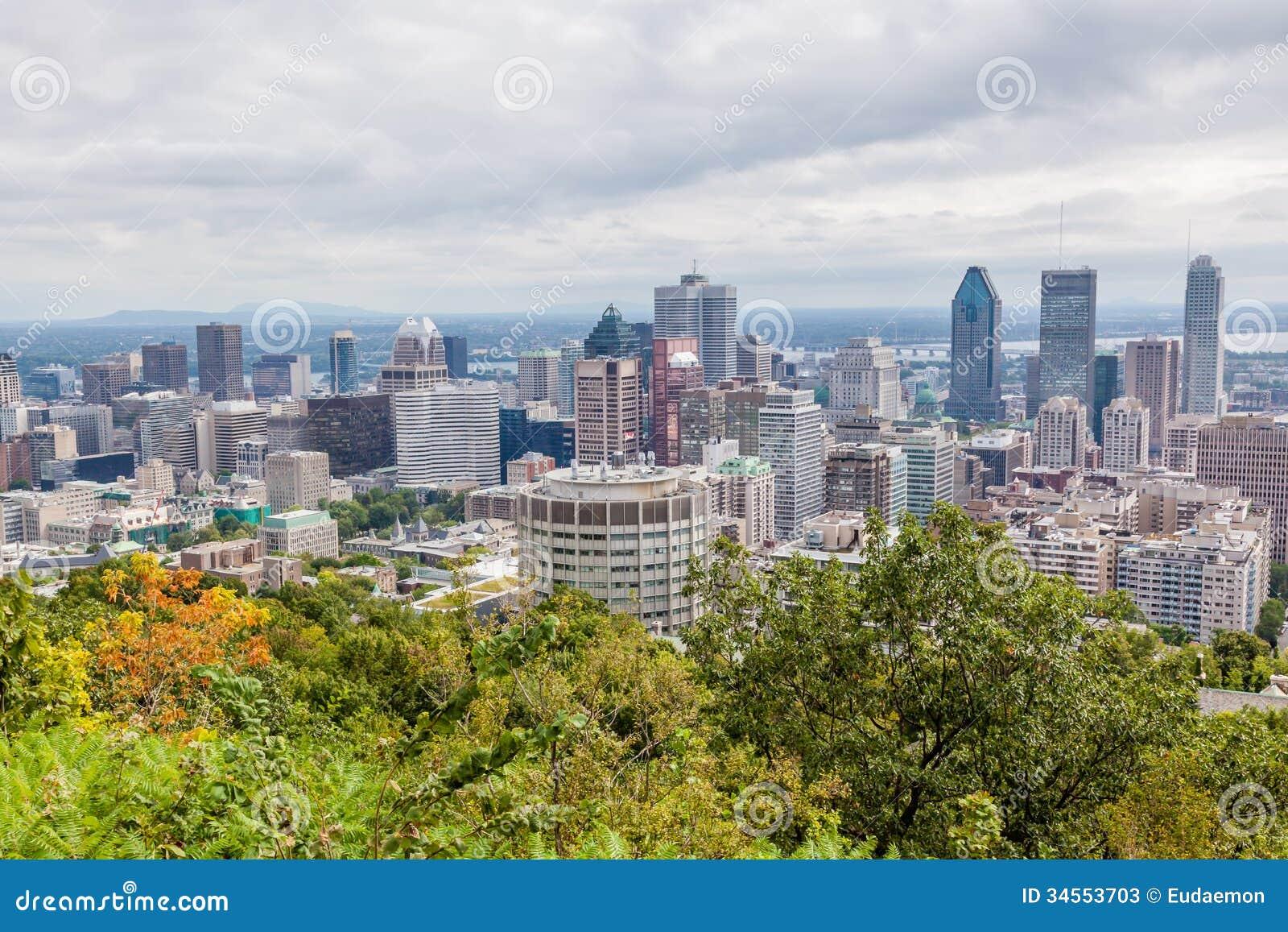 Montreal linia horyzontu
