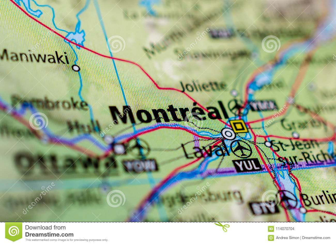 Montreal on map stock photo. Image of major, pages ... on montreal map, edmonton map, dakar map, canada map, rio grande river map, cairo map, ontario map, washington map, quebec map, rocky mountains map, valley falls map, yukon map, moscow map, north america map, sandoval map, bedford basin map, olathe northwest map, canadian shield map, minto map, saskatoon map,