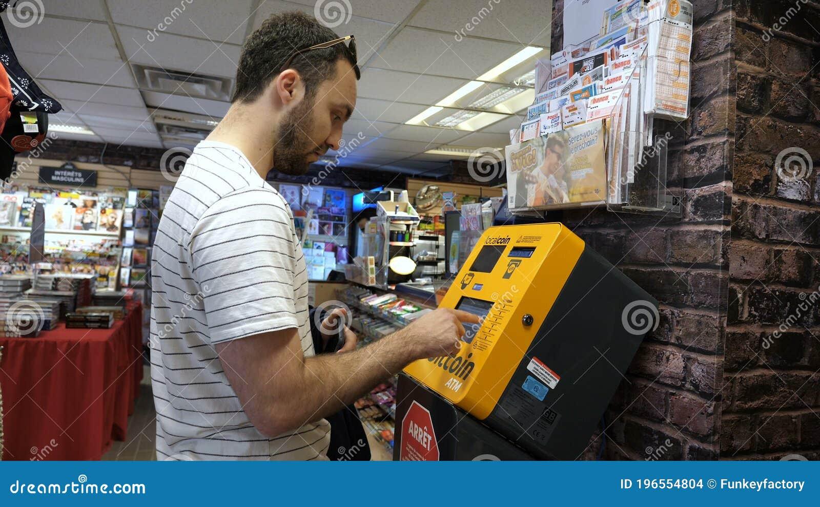 bitcoin machine in montreal canada