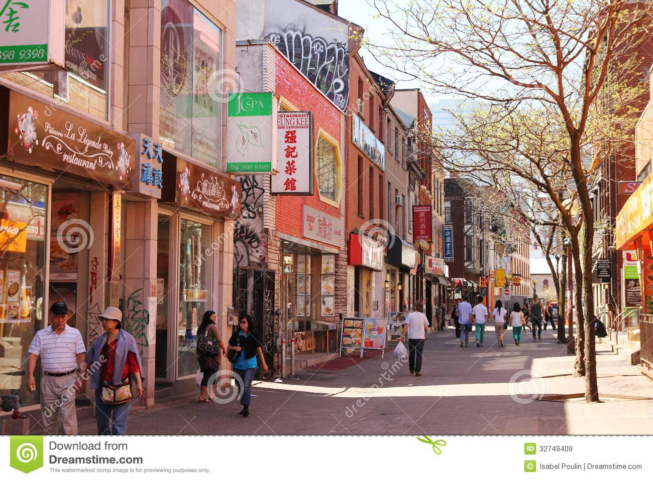 montreal s chinatown canada may little street quarter third biggest canada may 32749409