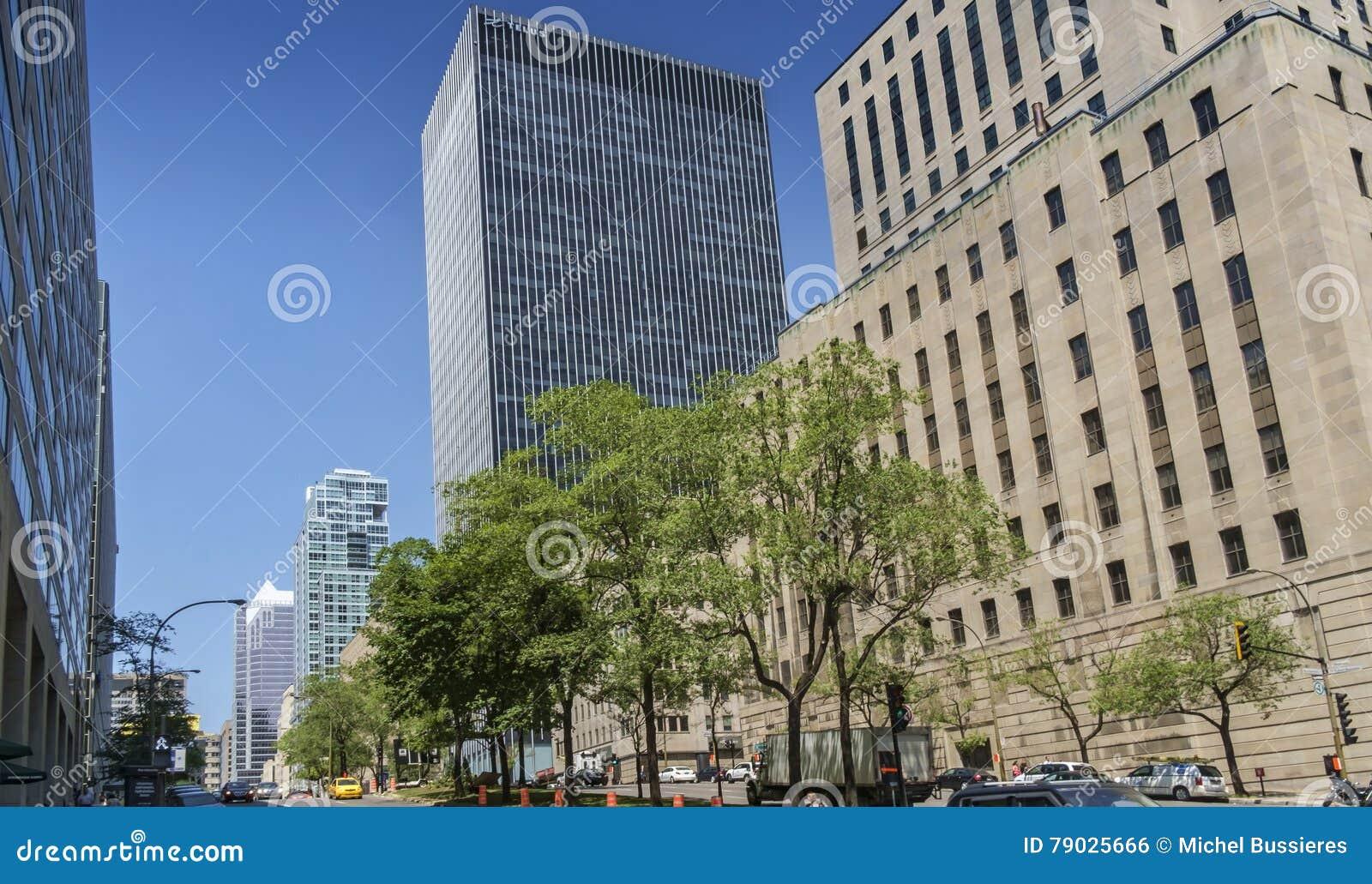 Montreal-Szene