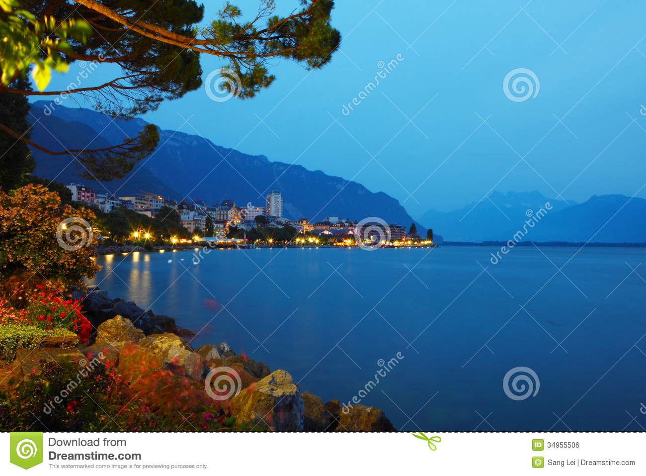 Montreux night