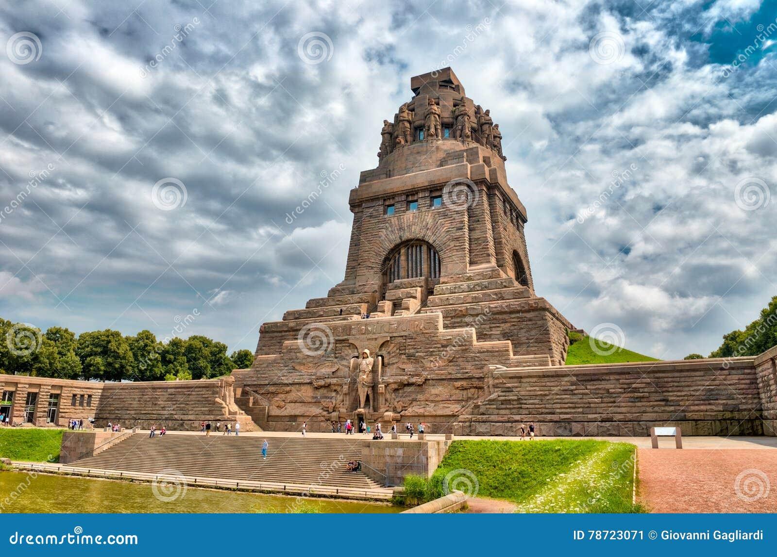 Monument à la bataille des nations, Leipzig, Allemagne