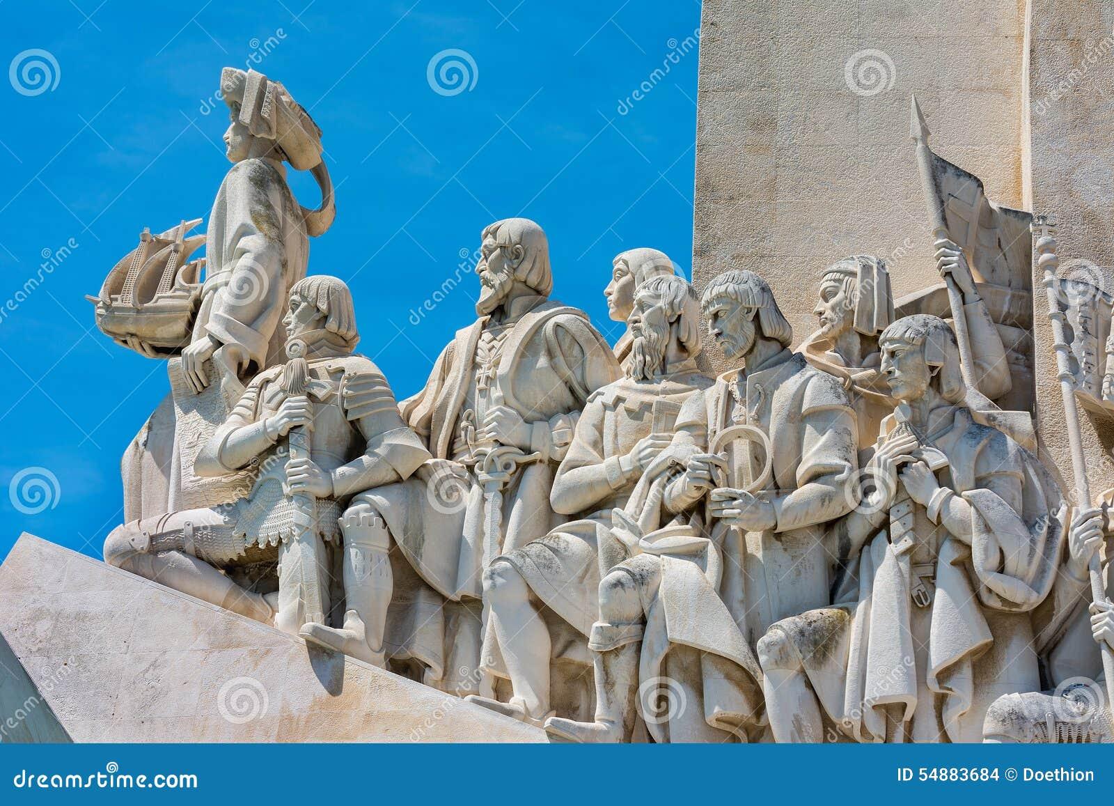 Monument aan de Ontdekkingen in Belem Lissabon Portugal