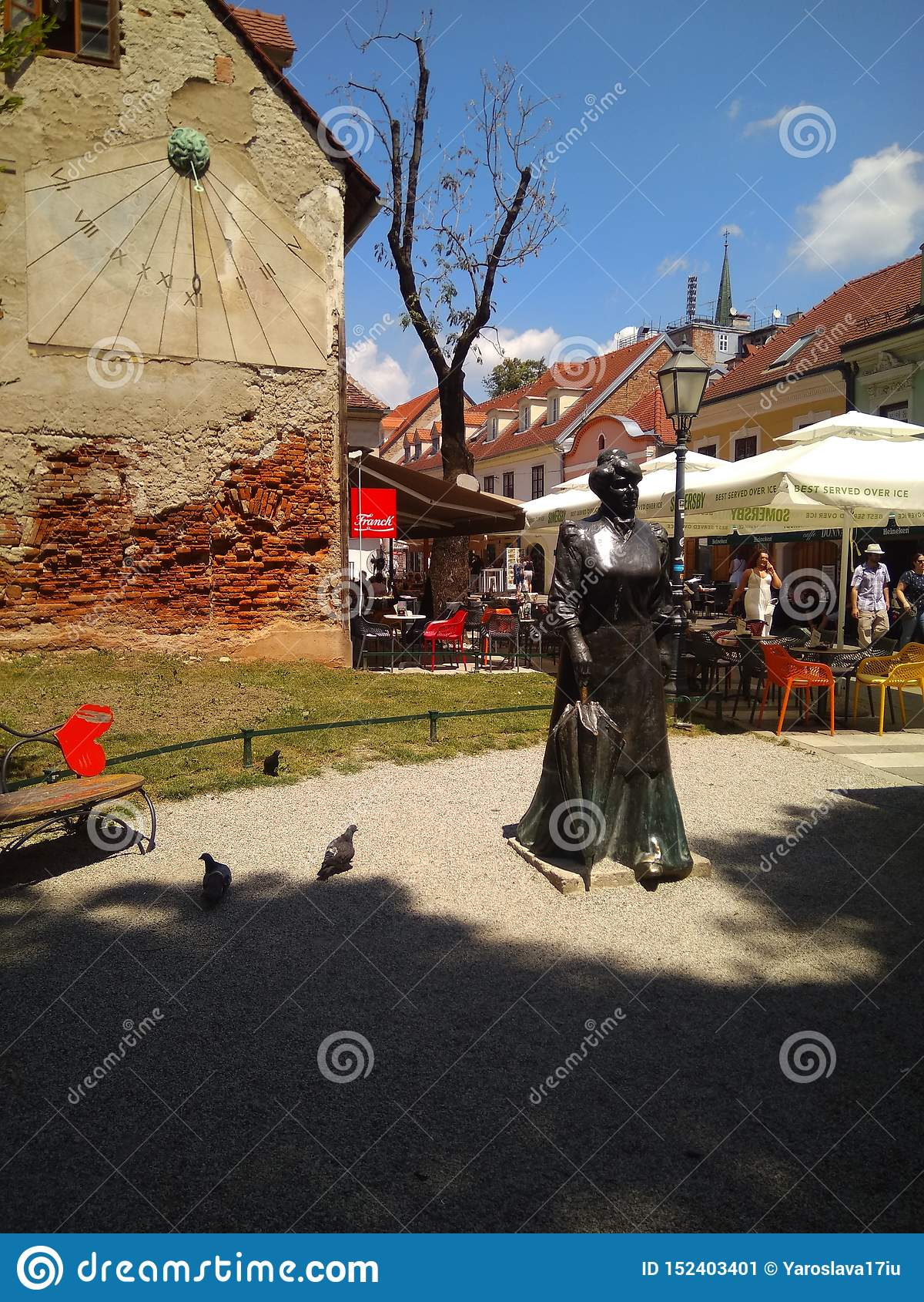 Monument aan Maria Juric Zagorka