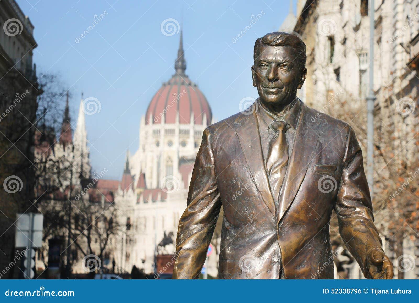 Monument au président des Etats-Unis Ronald Reagan