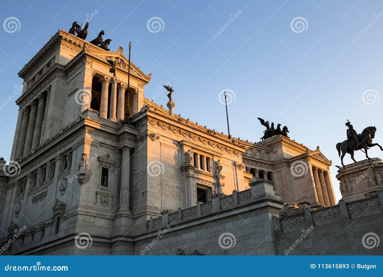 Monument av Victor Emmanuel: Altare della Patria, Monumento nazist