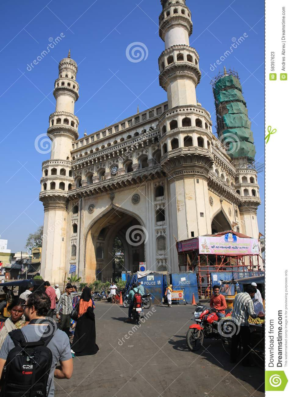 charminar hyderabad india royalty free stock photography 42242615. Black Bedroom Furniture Sets. Home Design Ideas
