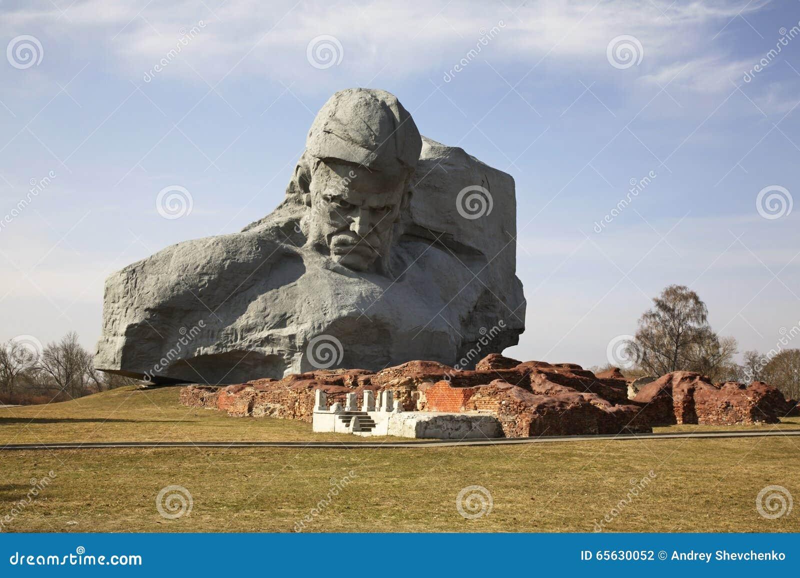 Monument dans des fortres de Brest-Litovsk brest